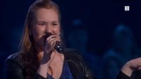 Kristin Dahl synger Janelle Monae i knockouten
