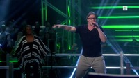 Kim Rune Hagen synger i The Voice-knockout