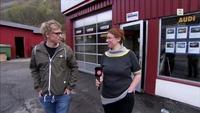 Biltrøbbel i Hardanger