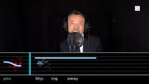 Se Øyvind Mund synge Take On Me