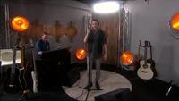 Øyvind Boye Løvold synger backstage i The Voice