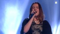 Yvonne Nordvik Sivertsen synger i første The Voice-livesending