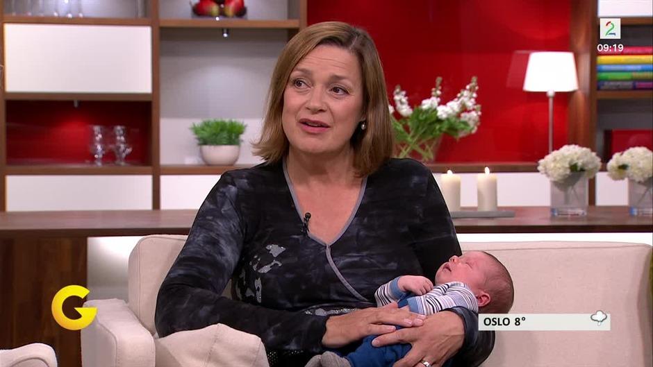 d5d010cc Anne Kathrine er 51 år - og nybakt mor for fjerde gang