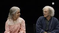 Paret tok til tårene da de fikk se hverandre som 90-åringer