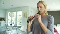 Kathrine Sørland viser fram sitt hjem og sitt «sexy move»