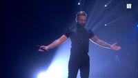 Pål Gunnar Asdal synger i den andre The Voice-livesendingen