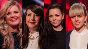 Se vinnerintervjuene med de fire som gikk videre i The Voice
