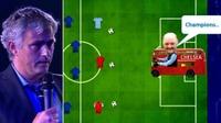 Mourinho latterliggjorde rivalene i episk tale