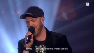 Øyvind Boye Løvold synger andre sang i finalen i The Voice