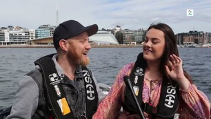 Øyvind Boye og Yvonne Nordvik Sivertsen fra The Voice opptrer sammen i TV 2-program