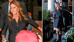 Her klikker det for paparazziene når Caitlyn Jenner viser seg for første gang