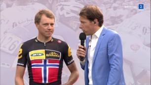 Boasson Hagen var stjernen da MTN-Qhubeka ble presentert