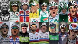 Gjenopplev alle Norges 16 etappeseirer i Tour de France