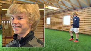 Norske Edvard (14) jaktes av fire Premier League-klubber
