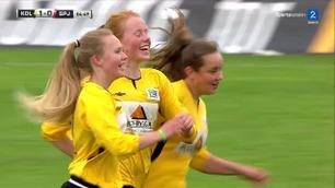 Her jubler de etter sitt første mål i Norway Cup - direkte på TV 2