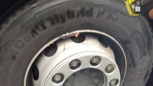 Bremsene på traileren brant da Vegvesenet stoppet den på Hardangervidda