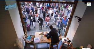 OPPTAK: Senkveld-Harald tilbrakte 30 timer i et glassbur