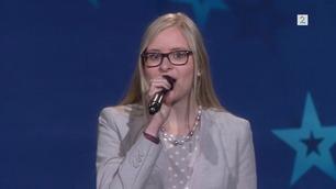 Anna Konstanse Marie Gjærum Kortner (4897) synger i Norske Talenter