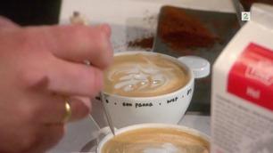Kenneth Tiller (4893) lager kaffe på audition i Norske Talenter