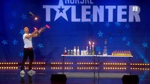 Murat Benek (4934) flarer på Norske Talenter-audition