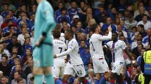 Crystal Palace ydmyket Chelsea på Stamford Bridge