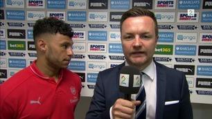 Oxlade-Chamberlain: – Newcastle har ikke så mye å klage over