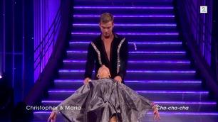 Christopher Mørch Husby og Maria Sandvik danser i Skal vi danse