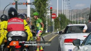 Sagan rasende etter å ha blitt meid ned av motorsykkel