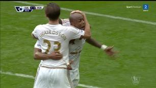 Ayew utligner for Swansea