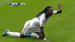 Sammendrag: Swansea - Man. United 2-1