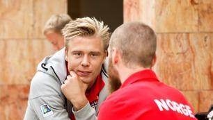 #herrelandslaget: Spisskrisen avlyst: Søderlund har trent!