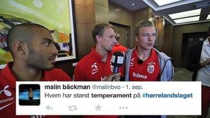 #herrelandslaget: «Snill, god og søt» - slik beskriver landslaget seg selv