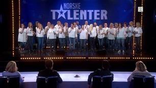 Strindheim Gospelkor (4740) synger i Norske Talenter