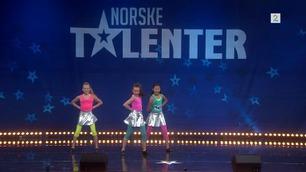 Eidsvoll Dancers (4655) danser i Norske Talenter