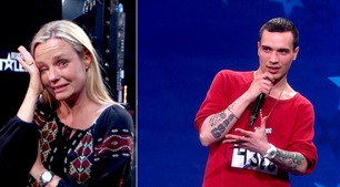 Michael Kildal rappet for sin døde venninne på Norske Talenter-audition
