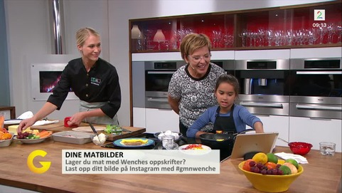 God morgen Norge- Wenches ukemeny - TV2.no