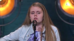 Mathilde Teigen Tverbakk (4318) synger på Norske Talenter-dommerutvelgelsen