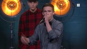 Thomas Meling (4672) rapper på Norske Talenter-dommerutvelgelsen