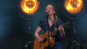 Caroline (4565) synger på Norske Talenter-dommerutvelgelsen
