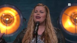 Hanna Lauritzen (4711) synger på Norske Talenter-dommerutvelgelsen