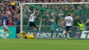 Mål: Wikheim 0-1 (18)