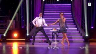 Samuel Massie og Marianne Sandaker danser i Skal vi danse
