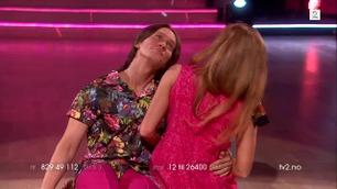 PelleK og Anette Stokke danser i Skal vi danse