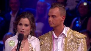 Gitte Witt ute av Skal vi danse