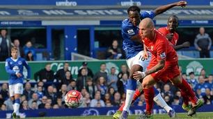 Sammendrag: Everton-Liverpool 1-1
