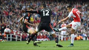 Sammendrag: Arsenal - Man. United 3-0