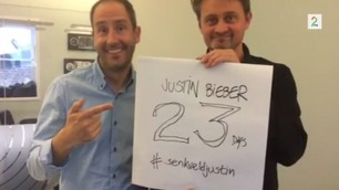 Thomas og Harald teller ned til Justin Bieber-besøk