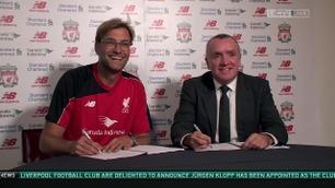 Her presenterer Liverpool Klopp som ny manager
