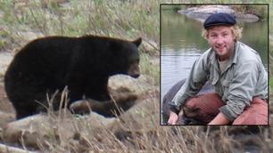 Jakten-Kjartan måtte jage vekk bjørn i underbuksa: – Jeg var aldri redd
