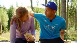 Jakten-Christina: – Ruben er veldig flink til å ta på meg